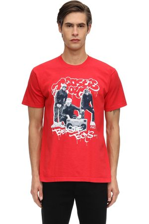 FACT. X BEASTIE BOYS Bboys Printed Cotton Jersey T-shirt