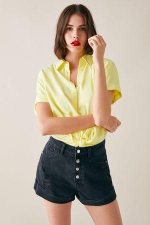 Zara Z1975 ripped shorts