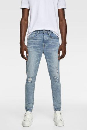 Zara Ripped skinny jeans