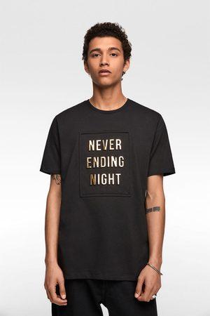 Zara Raised slogan t-shirt
