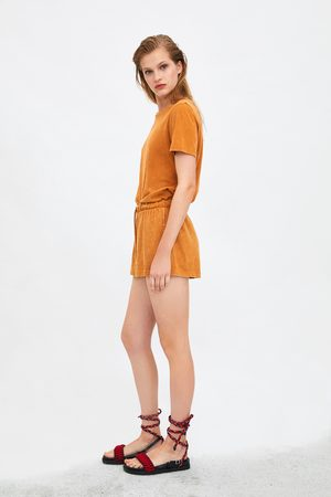 Zara Faded-effect t-shirt