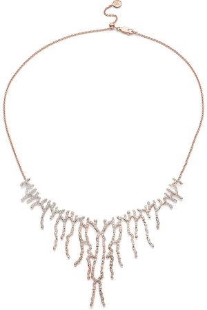Monica Vinader Riva Waterfall Cocktail Diamond necklace