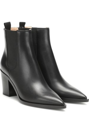 Gianvito Rossi Naiset Nilkkurit - Romney 70 leather ankle boots