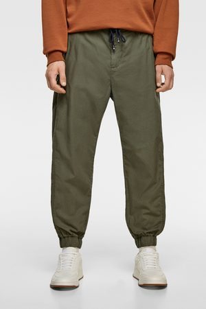 Zara Poplin jogging trousers