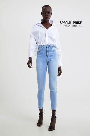 Zara High waist skinny beaded z1975 jeans