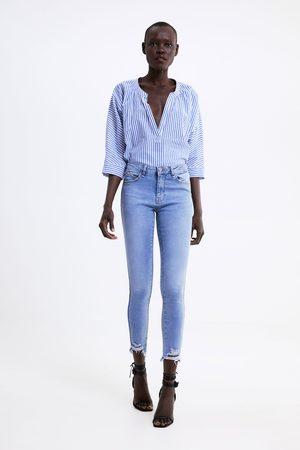 Zara Z1975 skinny jeans with taping