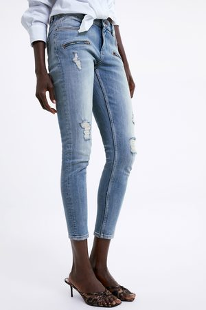 Zara Z1975 ripped skinny jeans