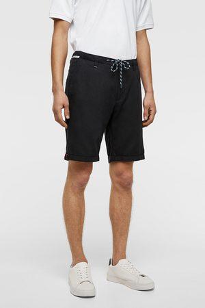 Zara Miehet Bermuda-shortsit - Drawstring bermuda shorts