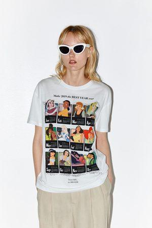 Zara © disney princess calendar t-shirt