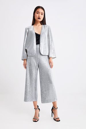 Zara Sequinned culottes