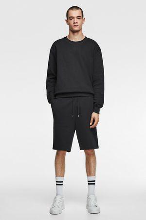 Zara Basic jogging bermuda shorts