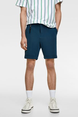 Zara Miehet Bermuda-shortsit - Textured weave bermuda shorts