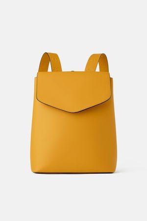 Zara Topstitched backpack