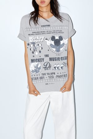 Zara © disney cartoon t-shirt