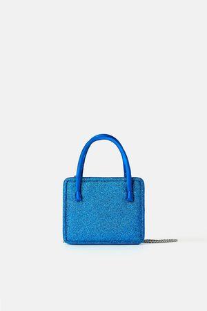 Zara Collection glitter mini crossbody bag