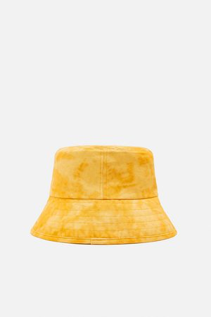 Zara Faded-effect bucket hat
