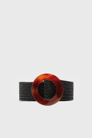Zara Belt with tortoiseshell-effect buckle