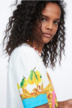 Zara Still life print t-shirt