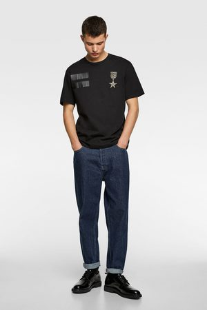 Zara T-shirt with embroidered medal
