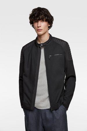 Zara Piqué biker jacket