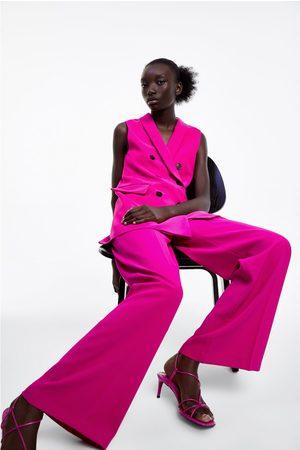 Zara Flowing wide-leg trousers