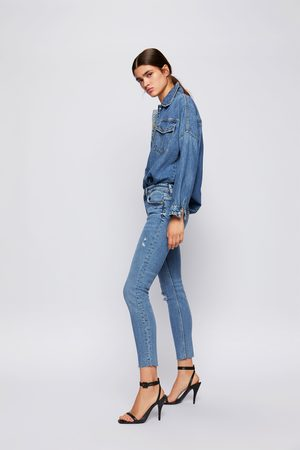 Zara Jeans zw premium '80s skinny sunrise
