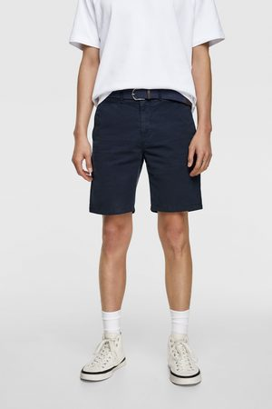 Zara Miehet Bermuda-shortsit - Belted bermuda shorts