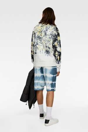 Zara Tie dye sweatshirt