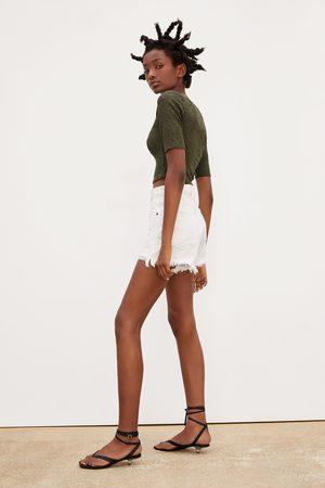 Zara Naiset T-paidat - Lace t-shirt