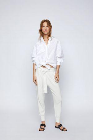 Zara Knit jogging trousers