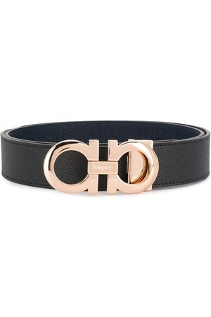 Salvatore Ferragamo Vyöt - Logo buckle belt