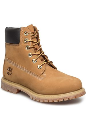 Timberland Naiset Nilkkurit - 6in Premium Boot - W Shoes Boots Ankle Boots Ankle Boots Flat Heel Ruskea