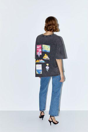 Zara Graphic print t-shirt