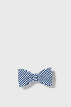 Zara Miehet Rusetit - Gingham bow tie