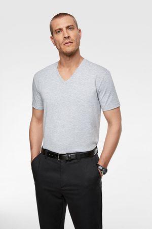 Zara BASIC SLIM FIT T-SHIRT
