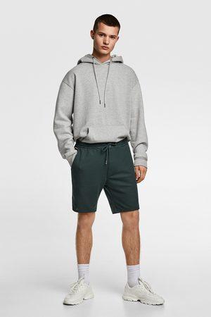 Zara Miehet Bermuda-shortsit - Piqué bermuda shorts