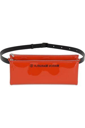 MM6 MAISON MARGIELA Faux Patent Leather Belt Bag