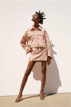 Zara Naiset Minihameet - Coloured mini skirt