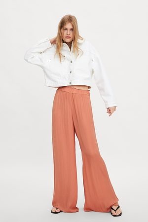 Zara Flowing wide-leg trousers