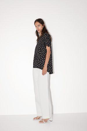 Zara Basic asymmetrical t-shirt