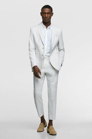 Zara Miehet Housut - Rustic suit trousers