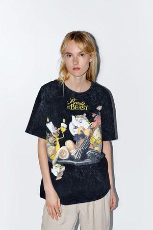 Zara © disney beauty and the beast t-shirt