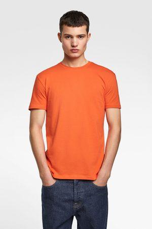 Zara Miehet T-paidat - Slim fit t-shirt