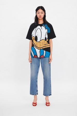 Zara ©disney's donald duck t-shirt