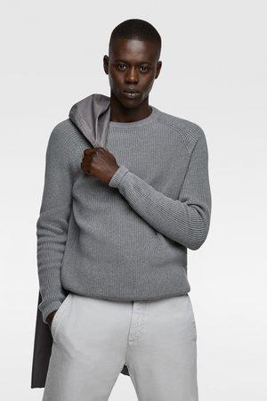 Zara Purl knit sweater