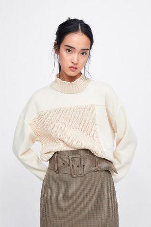 Zara Naiset Kynähameet - Check pencil skirt