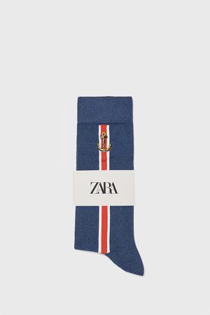 Zara Nautical mercerised cotton socks