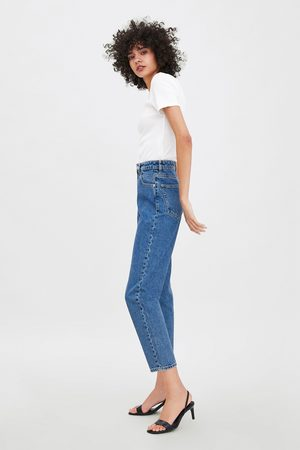 Zara Authentic denim mom jeans