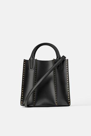 Zara Naiset Isot laukut & ostoslaukut - Studded tote bag
