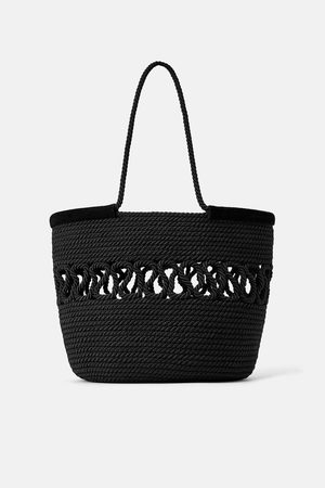 Zara Naiset Isot laukut & ostoslaukut - Plaited tote bag